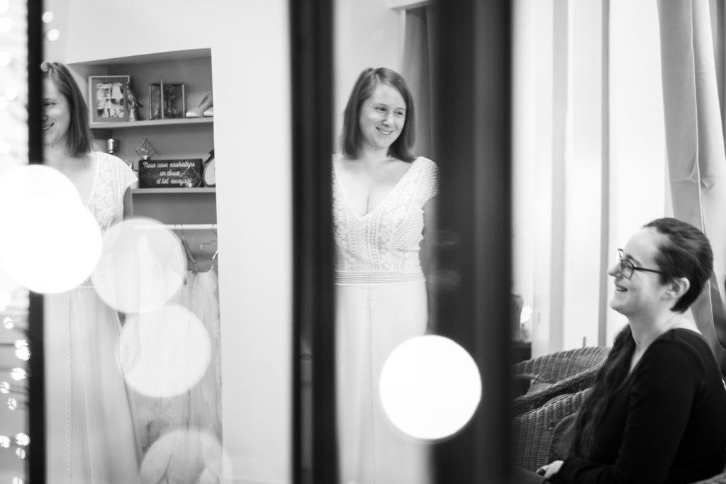 Essayages chez Cymbeline Caen, robe Iseult