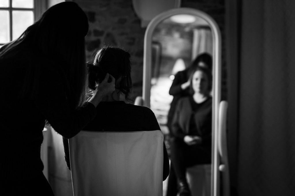 Coiffeuse pour mariage en Normandie