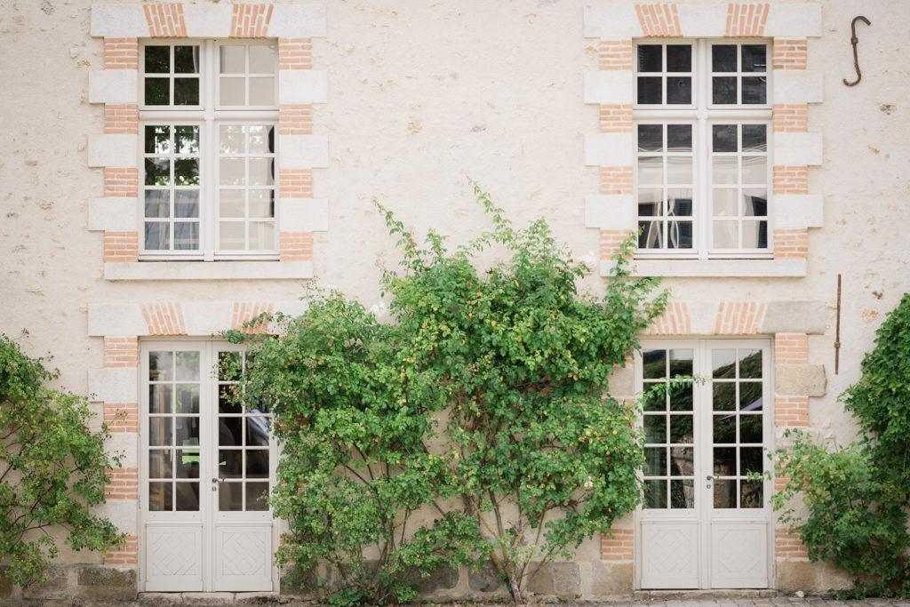Façade d'un bâtiment du domaine de quincampoix en région parisienne