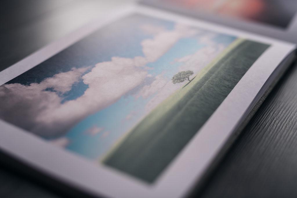 page d'un livre saal digital