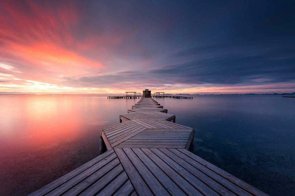 San Javier au lever de soleil