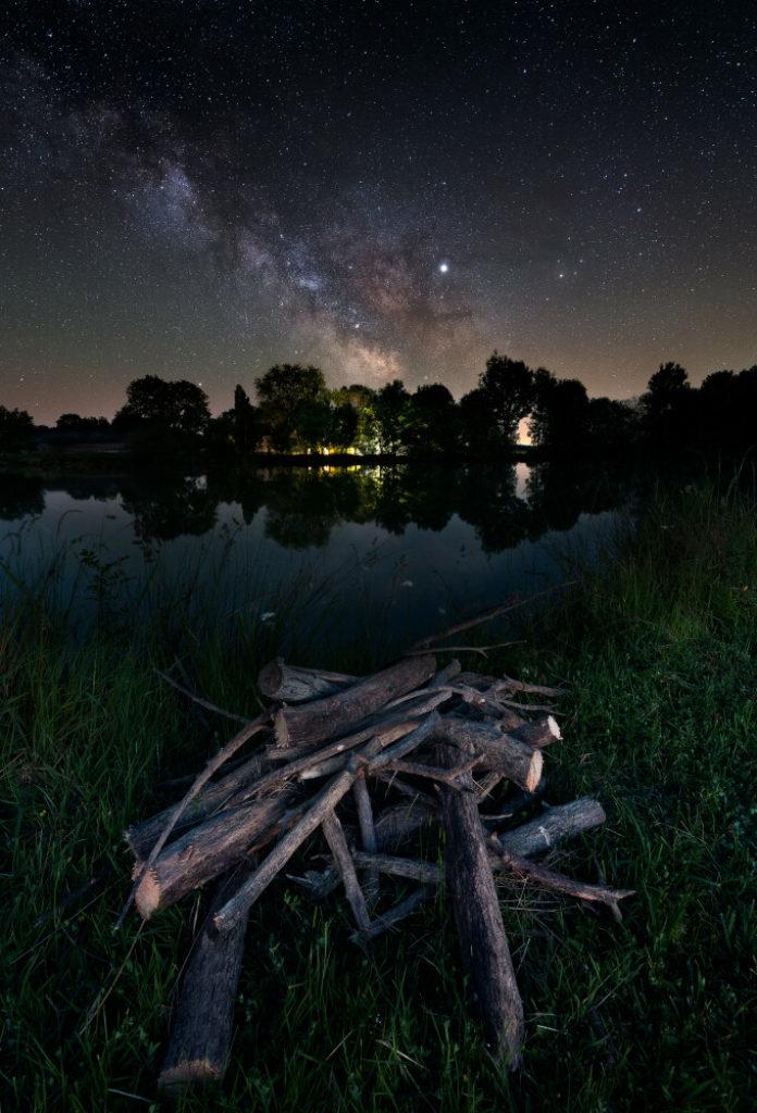 Photo de la voie lactée