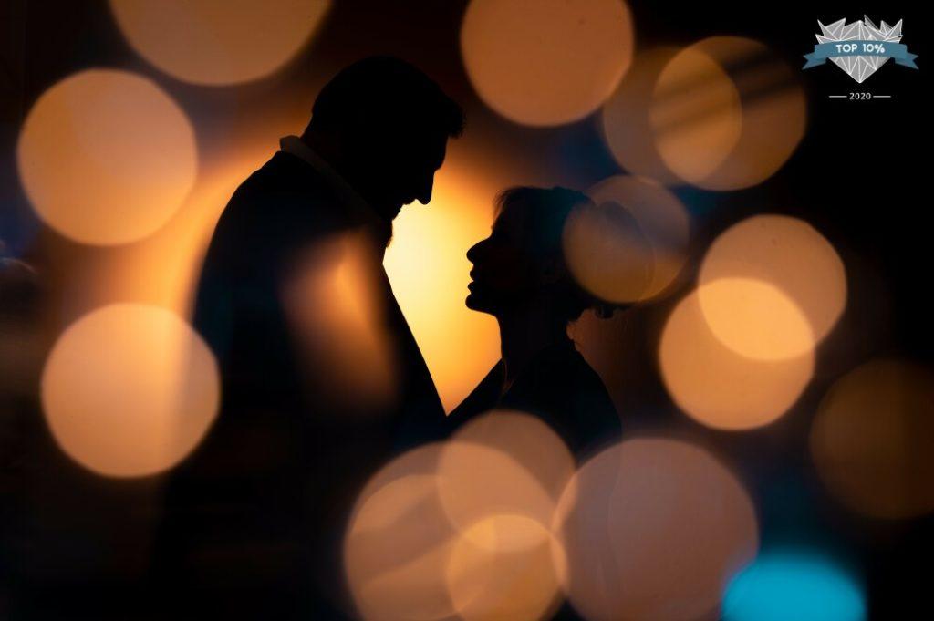 Photo de couple de mariage en Normandie
