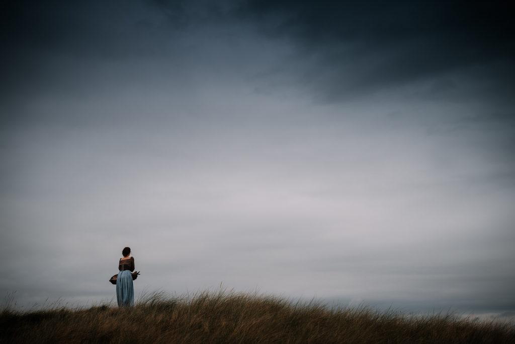 shooting photo dans les dunes de normandie