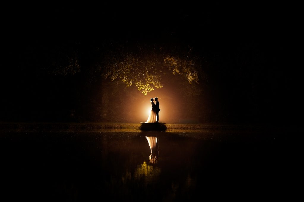 Couple de mariés le jour de leur mariage