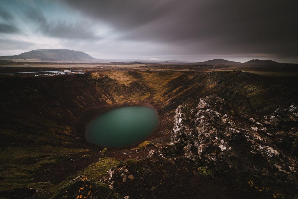 Kerid crater en Islande