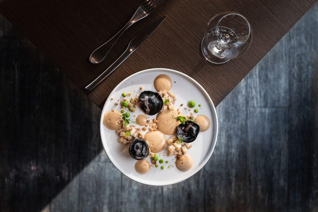 Photo culinaire d'un plat du restaurant l'Espérance à Caen