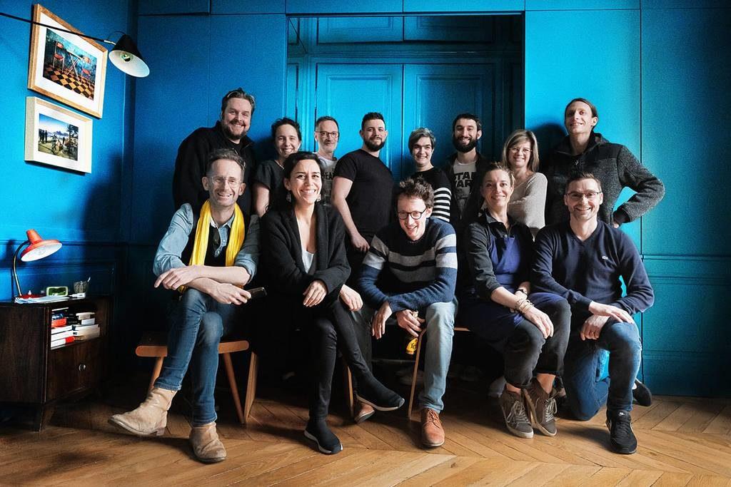 Photo de groupe du delight workshop 2021 par Franck Boutonnet