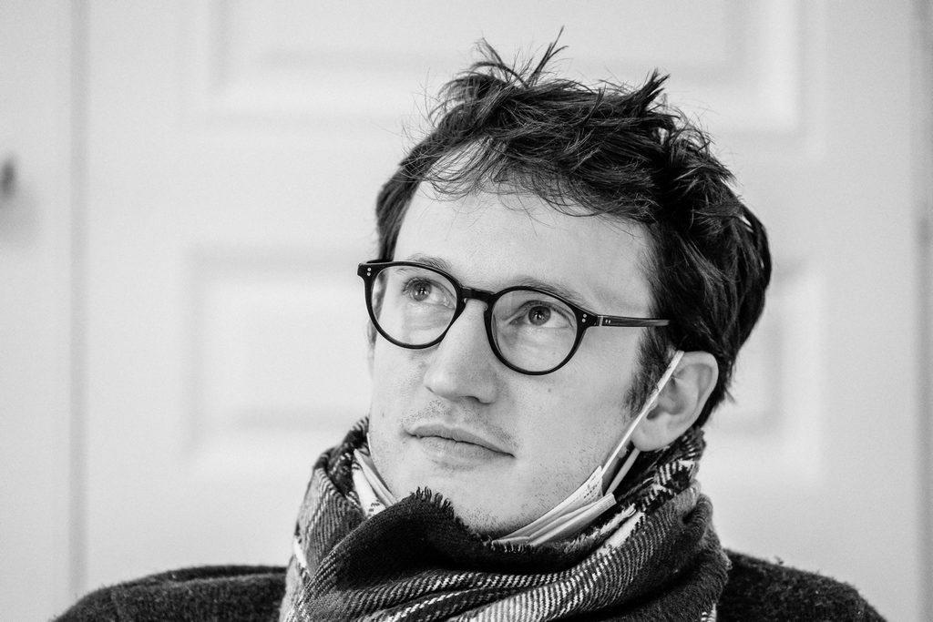 Portrait de Jean-Baptiste Chauvin photographié par Rocio Vega