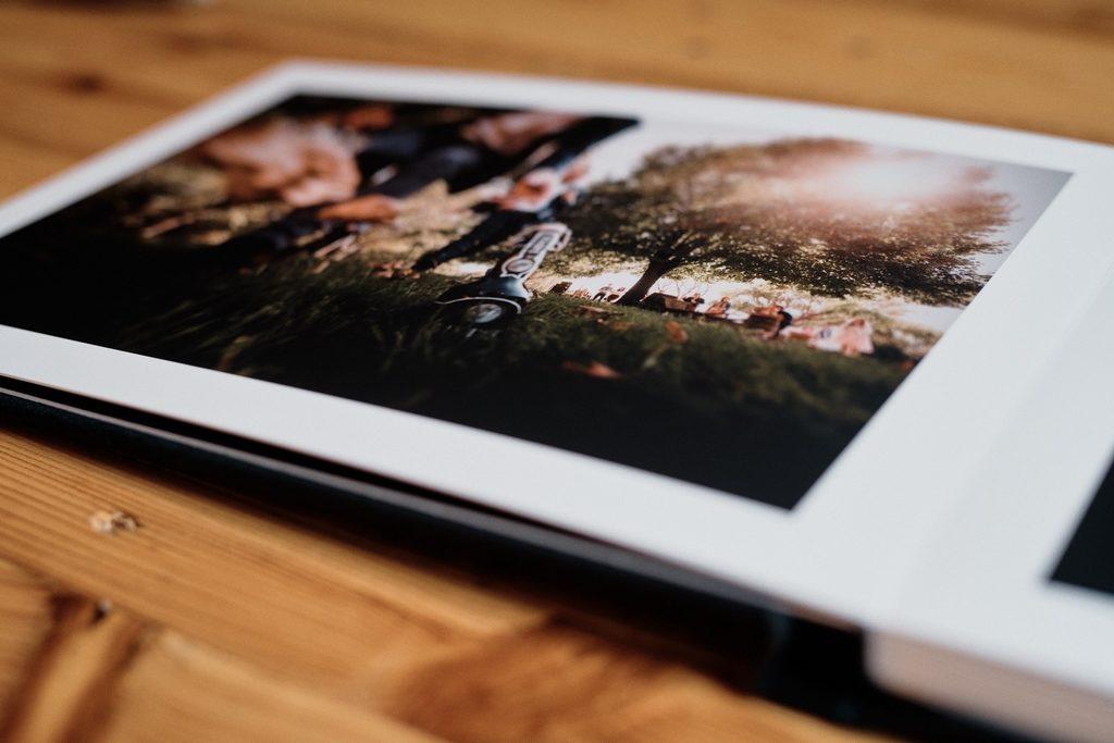 Pages de livre photo avec finition Fine Art
