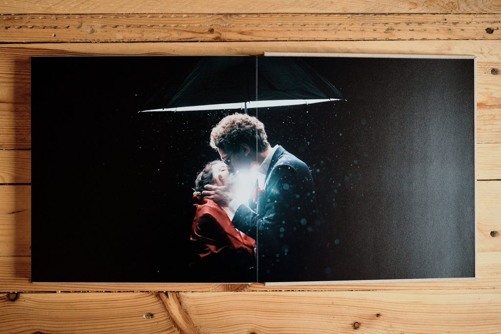 Page de livre photo de mariage Matisseo Pro