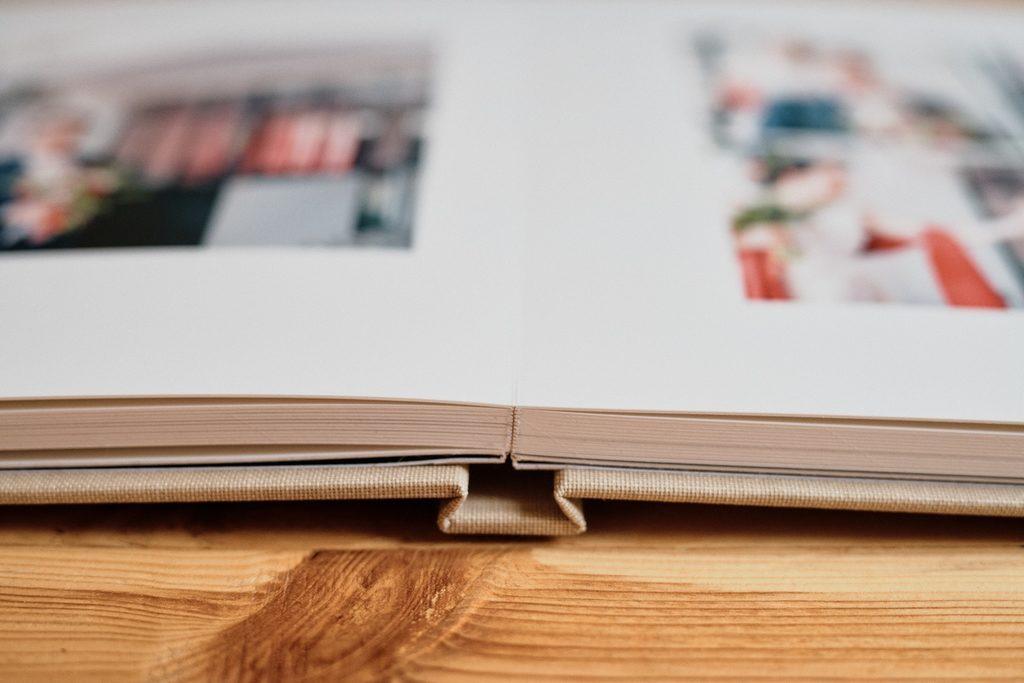 Pages de livre matisseo, vue de côté